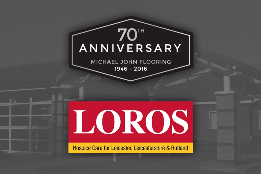 Raising money for LOROS